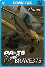 Alabeo PA-36 Pawnee Brave375 (FSX/FSX:SE/P3D)