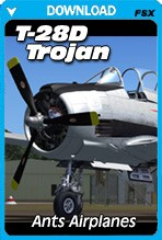 Ant's Airplanes Trojan T28D (FSX/FSX:SE/P3Dv1-v4)