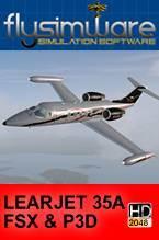 FlySimWare Learjet 35A (FSX/FSX:SE/P3D)