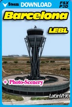 Barcelona Airport (LEBL) for FSX/FSX:SE/P3D