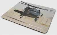Mouse Pad - Blackhawk Almost Down