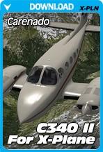 Carenado-C340II-For-XPlane-PCAviatorAust