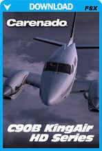 Carenado C90B Kingair HD Series (FSX/FSX:SE/P3Dv3-v4)