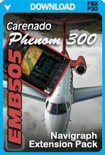 Navigraph Extension Pack for the Carenado EMB505 Phenom 300 (FSX/FSX:SE/P3D)