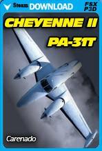 Carenado PA-31T Cheyenne II (FSX/FSX:SE/P3D)