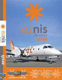 Just Planes DVD - Eznis Airways SF340
