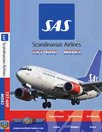 Just Planes DVD - SAS Scandinavian Airlines