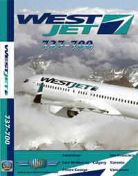Just Planes DVD - West Jet 737-700