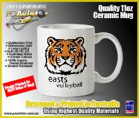 Easts Volleyball Club 11oz Ceramic Mug
