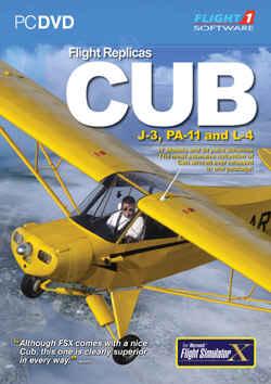 Flight Replicas Piper Cub