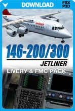 146-200 Jetliner Livery & FMC Expansion Pack
