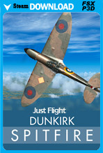 Dunkirk Spitfire (FSX/FSX:SE/P3Dv1-v4)