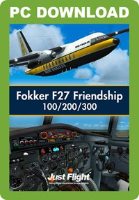Fokker F27 Friendship 100/200/300 (FSX/FSX:SE/P3D)