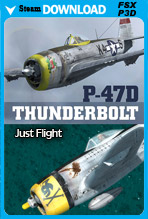 Just Flight P-47 Thunderbolt (FSX/FSX:SE/P3Dv1-v4)
