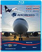 Just Planes BluRay - AeroMexico 737-800 & 777-200