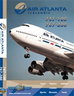 Just Planes DVD - Air Atlanta Icelandic 747+767