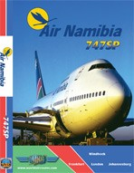Just Planes DVD - Air Namibia 747SP