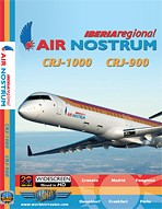 Just Planes DVD - Air Nostrum CRJ-1000 & CRJ-900