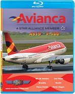 Just Planes BluRay - Avianca A319 + F-100