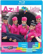Just Planes BluRay - Azul Ladies in Pink EMB-195 & ATR-72