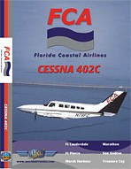 Just Planes DVD - Florida Coastal Airlines Cessna 402C