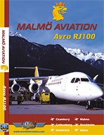 Just Planes DVD - Malmo Aviation Avro RJ100