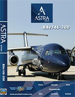 Just Planes DVD - Astra Airlines BAe 146-300