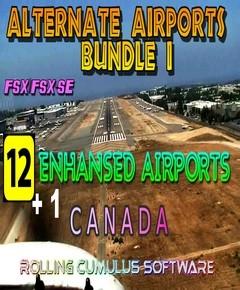 Alternate Airports Bundle I - Canada