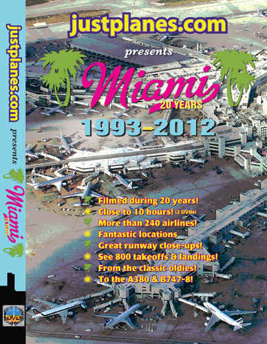 Just Planes DVD - Miami 20 Years (1993-2012)