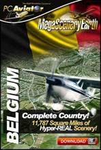 MegaSceneryEarth 2.0 - Belgium Complete Country