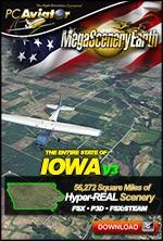 MegaSceneryEarth 3 - Iowa (FSX/FSX:SE/P3Dv1-v4)