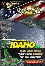 MegaSceneryEarth 3 - Idaho (FSX/FSX:SE/P3Dv1-v4)