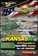 MegaSceneryEarth 3 - Kansas (FSX/FSX:SE/P3Dv1-v4)