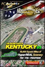 MegaSceneryEarth 3 - Kentucky (FSX/FSX:SE/P3Dv1-v4)