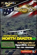 MegaSceneryEarth 3 - North Dakota (FSX/FSX:SE/P3Dv1-v4)