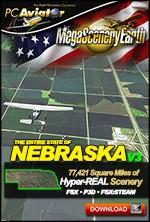 MegaSceneryEarth 3 - Nebraska (FSX/FSX:SE/P3Dv1-v4)