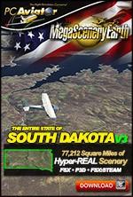 MegaSceneryEarth 3 - South Dakota (FSX/FSX:SE/P3Dv1-v4)