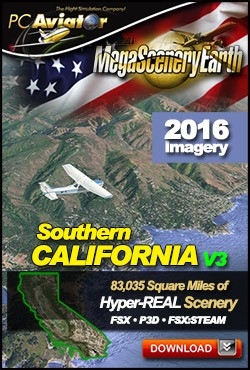 MegaSceneryEarth 3 - California V3 (Southern)