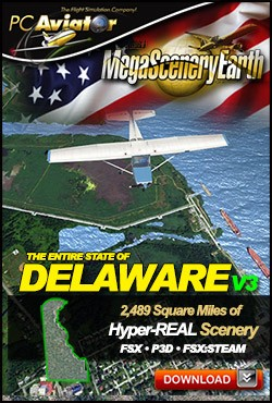MegaSceneryEarth 3 - Delaware