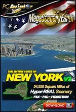 MegaSceneryEarth 3 - New York State (FSX/FSX:SE/P3Dv1-v4)
