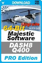 Majestic Software Dash 8 Q400 Pro 64-Bit Edition UPGRADE (P3Dv4 Only)