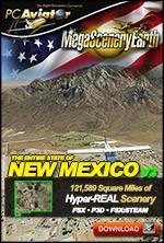 MegaSceneryEarth 3 - New Mexico (FSX/FSX:SE/P3Dv1-v4)