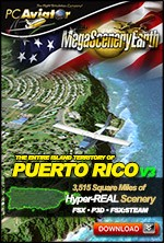 MegaSceneryEarth 3 - Puerto Rico