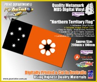 Northern Territory Flag Sticker