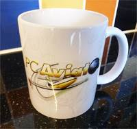 PC Aviator 11oz Ceramic Mug - Design 1 (Free Shipping)