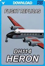 DH.114 Heron for FSX and P3D