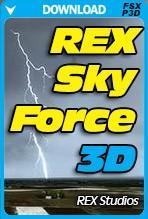 REX Sky Force 3D (FSX/FSX:SE/P3Dv1-v4)