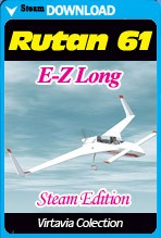 Rutan 61 Long E-Z (Steam)