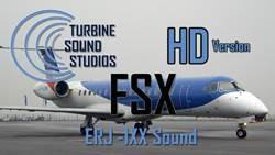 ERJ-135, ERJ-140, ERJ-145 soundpack for FSX