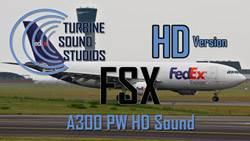 Airbus A300 PW4000 Soundpack FSX